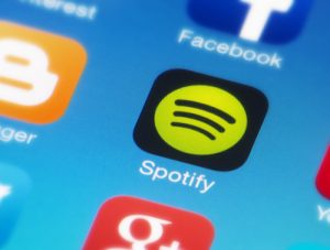 Spotify Streaming Services app